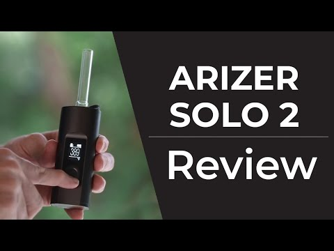 Arizer Solo 2 Vaporizer Review | Cloud Shots, Demo & How To