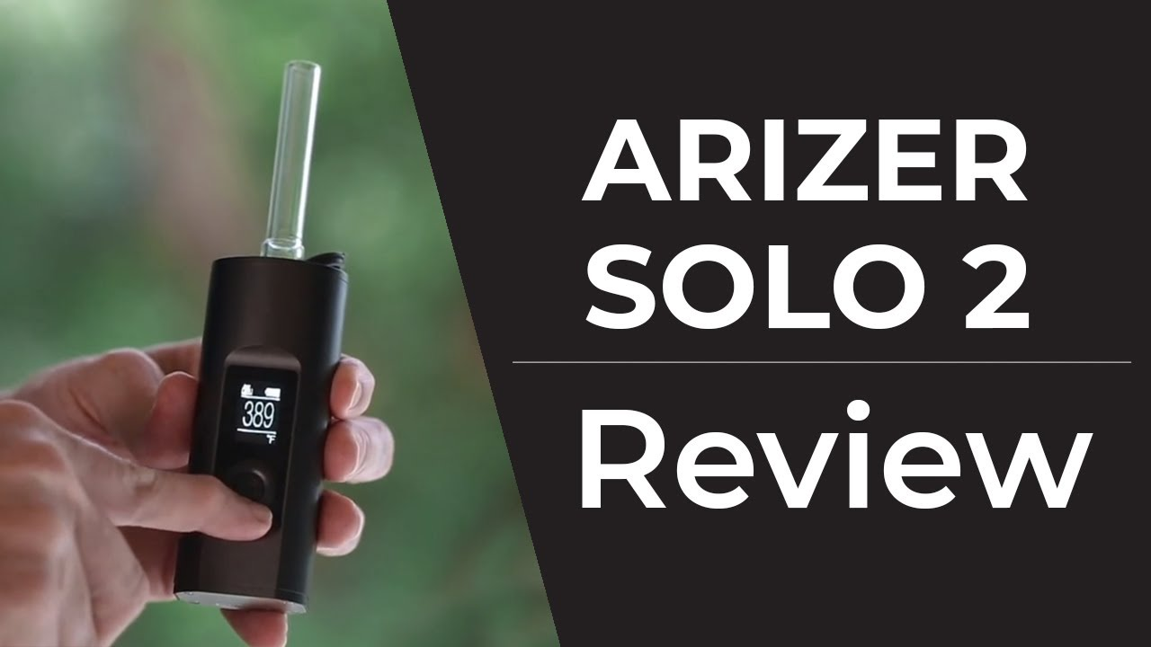 Arizer Solo 2 Vaporizer | Free Shipping - Planet Of The Vapes