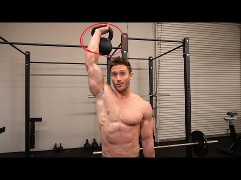 Men's 5-Minute Six Pack Abs Kettlebell Workout Routine