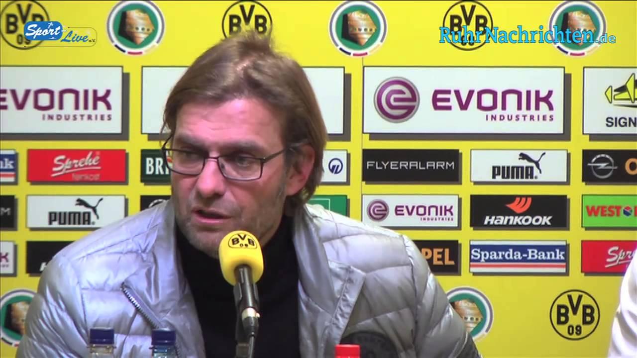 BVB Pressekonferenz nach dem DFB-Pokal Achtefinale vom 19.Dezember 2012 zwischen Borussia Dortmund und Hannover 96
