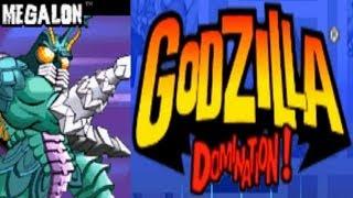 Godzilla - Domination - Megalon (GBA)