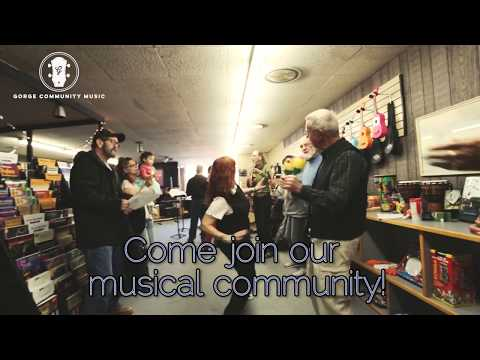 Gorge Community Music ~ Rockin Robin ~ The Dalles, OR 2017