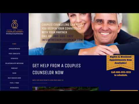 Web Design Project - The Couples Expert Scottsdale