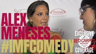 Alex Meneses interviewed at International Myeloma Foundation 12th Comedy Celebration #IMFComedy