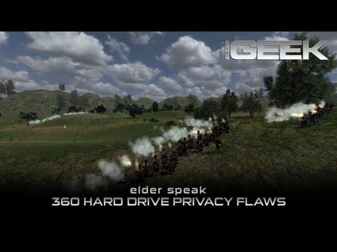 Elder Speak - 360 Hard Drive Privacy Flaw