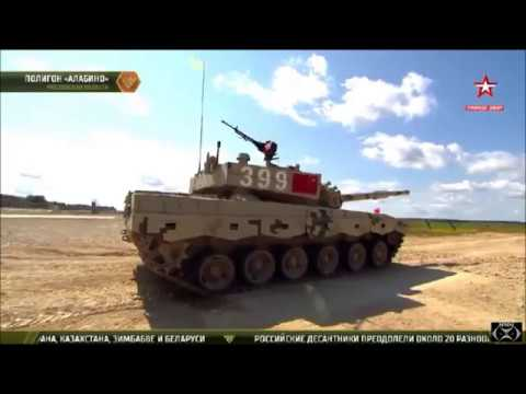 Tank Biathlon 2017 Day 7 Race 12  China, Mongolia, Kuwait & Azerbaijan