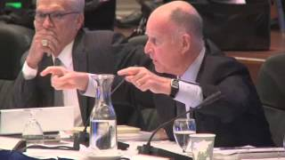 California Gov. Brown Talks About Politics & Budget at UC Regents: Nov. 14, 2013