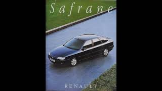 Renault Safrane 1992 - 2000 Video