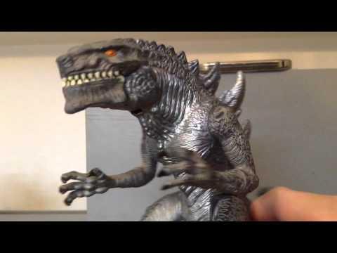 Trendmasters Godzilla 1998 action figure Review - YouTube