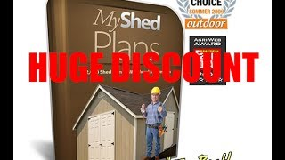 My Shed Plans - Huge Discount On My Shed Plans !