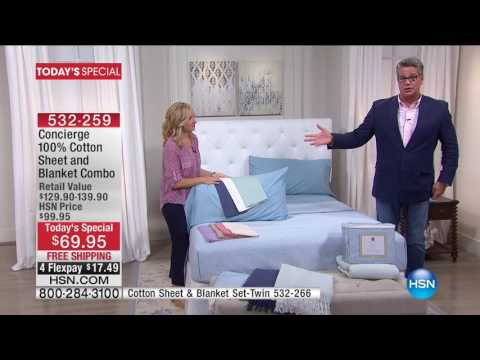 HSN | HSN Today: Concierge Collection Bedding 05.17.2017 - 08 AM
