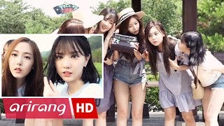 pops in seoul gfriend 여자친구 love whisper 귀를 기울이면 mv shooting sketch