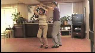 Mambo Slow Underarm Turn (gyro)