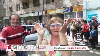 «Սիլաչիում» կինը պարելով հայտարարում էր. «Պարի եմ հրավիրում Երևանի քաղաքապետի թեկնածուներին»