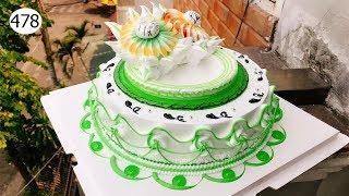 cake decorating bettercreme vanilla (478 ) Bánh Kem Đơn Giản Đẹp (478)
