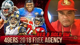 Live! 49ers Free Agency 2018 - Ronbo Sports Red & Gold GM EP 4