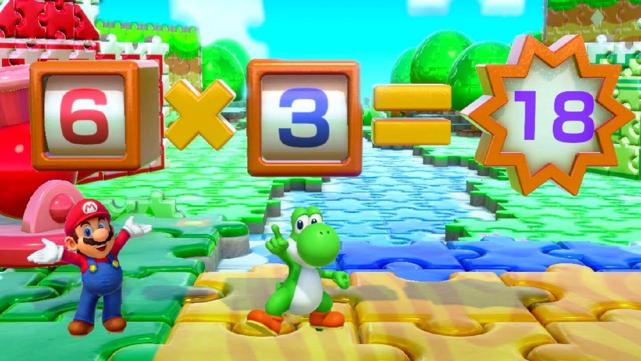 Super Mario Party Minigames - Yoshi vs Mario vs Luigi vs Peach (Master CPU)