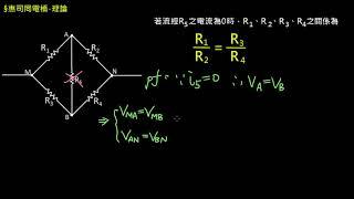電路學【觀念】惠司同電橋-理論