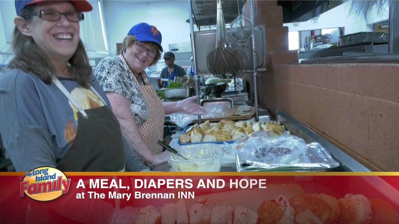 a meal diapers and hope at the mary brennan inn youtube