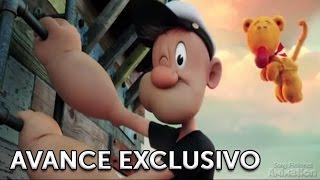 POPEYE. Genndy Tartakovsky presenta  una prueba de la animación. Sony Pictures España.