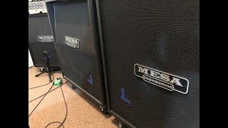Mesa Boogie Rectifier Cab test. 4x12 OS standard & straight vs. 2x12 Vert. Mesa Dual Racktifier.