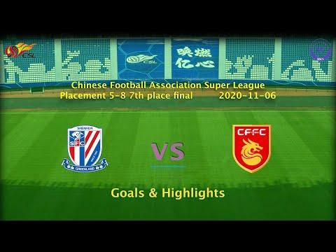 Hebei Zhongji Shanghai Shenhua Goals And Highlights