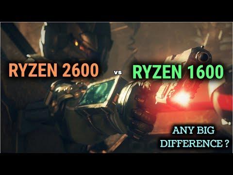 Ryzen 1600 vs Ryzen 2600 Does it bottleneck sub 350$ gpu (gtx 1070)