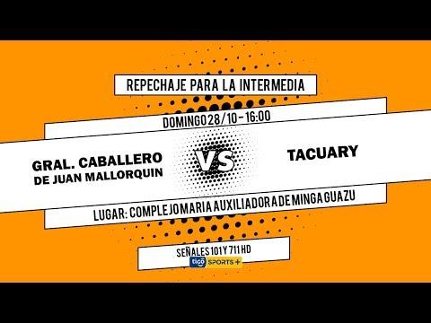 General Caballero JLM vs. Tacuary