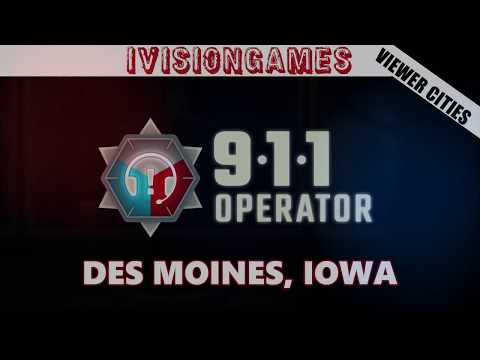 911 Operator -  Viewer Cities - Des Moines, Iowa - Why Are All The Calls At The Edge Of The Town