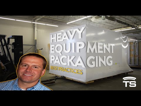 Packaging Best Practices for Heavy Equipment Manufacturers | Flatbed Shipping and Long-Term Storage