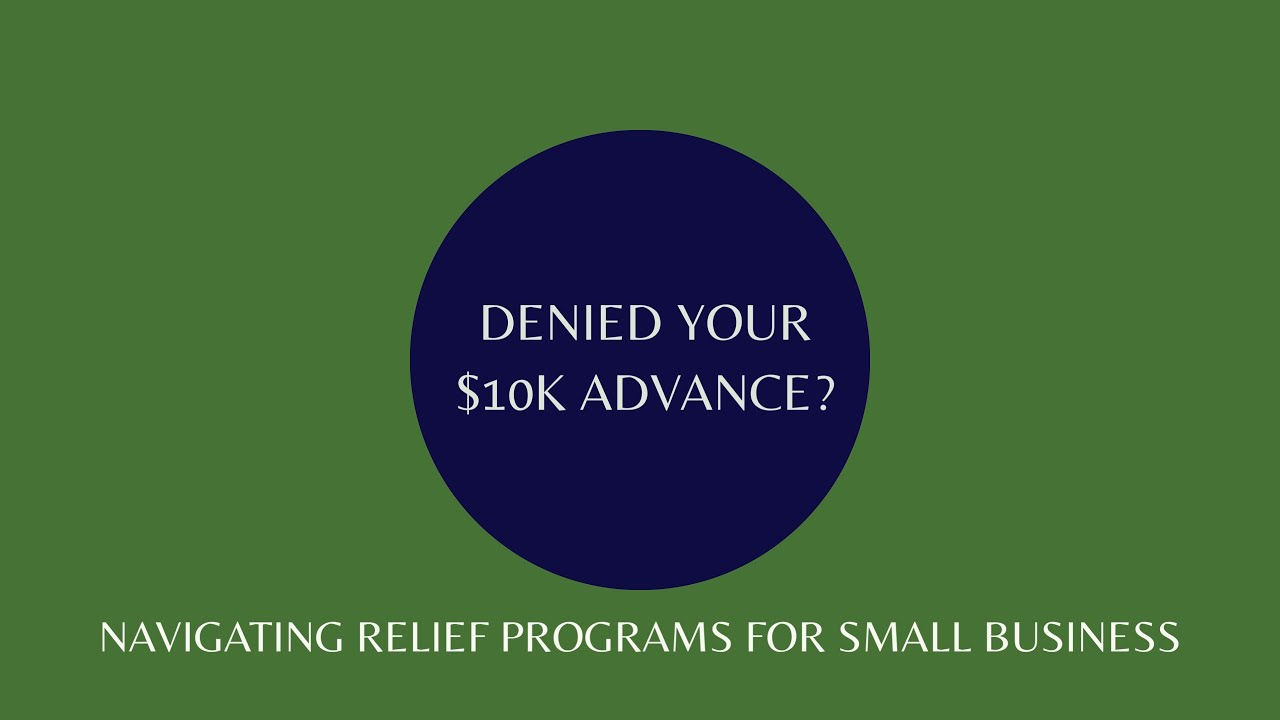 An Update about the $10k Emergency Funding for Small Business During COVID-19