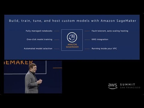 New Amazon SageMaker Feature Launches Announced at AWS San Francisco Summit 2018