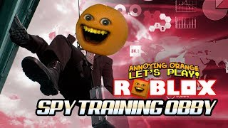 Roblox: Spy Training OBBY! [Annoying Orange Plays]