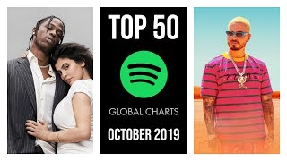 TOP 50 SPOTIFY GLOBAL CHARTS ♫ OCTOBER 2019