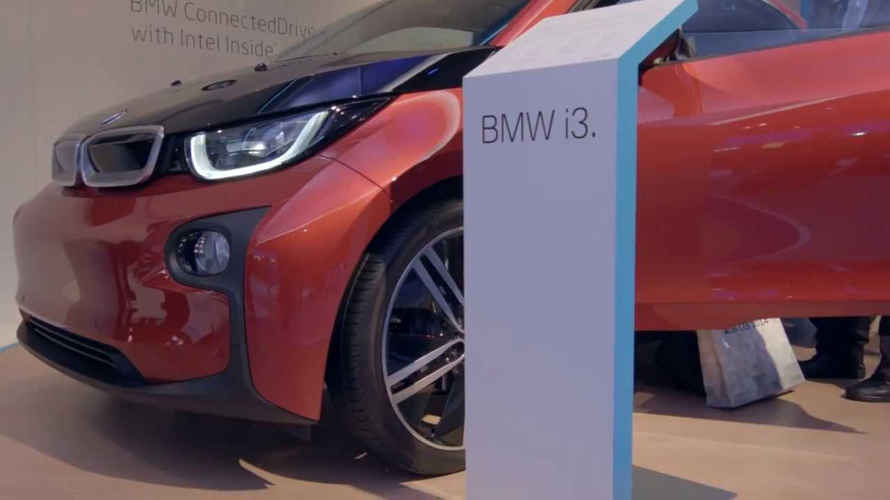 bmw i3 connected drive ces 2014 youtube. Black Bedroom Furniture Sets. Home Design Ideas