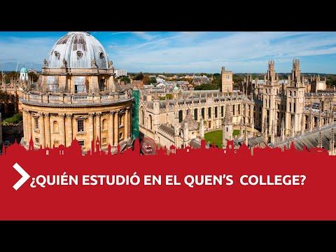 ¿Quién estudió en el Queen's College?   Te lo Cuento de Camino