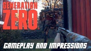 Generation Zero Singleplayer Gameplay and Impressions