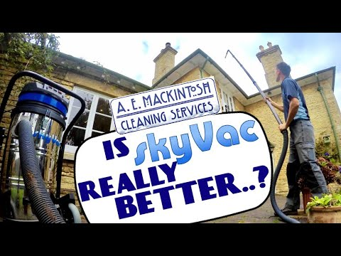 Is SkyVac Really Better Than A Standard Vacuum For Cleaning Out Gutters?