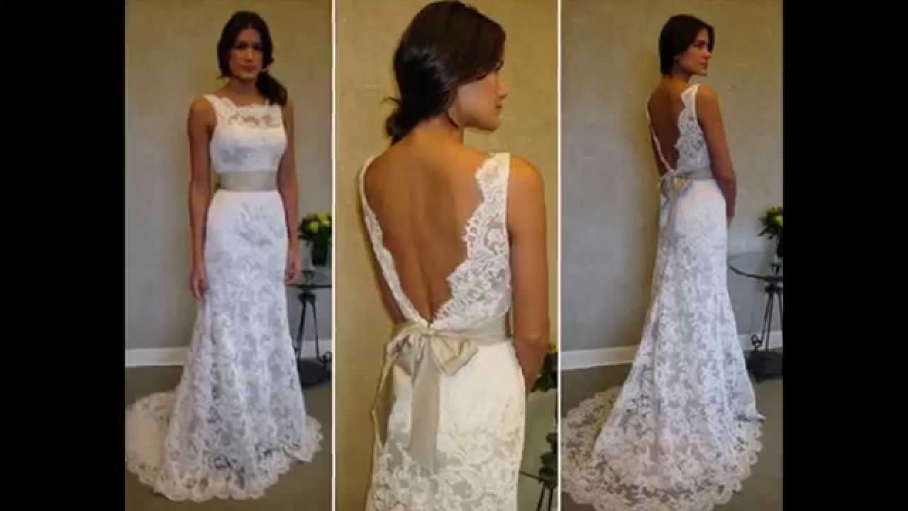 d6a5b82f934cb  فساتين زفاف من الدانتيل لعروس 2014 - YouTube