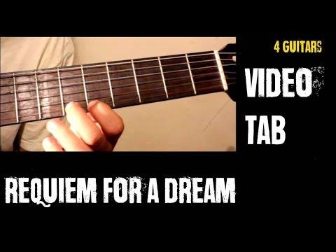 Requiem for a dream - For 4 guitars