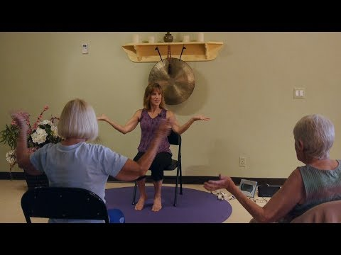 """Stop in the Name of Love!"" Chair Yoga Dance with Sherry Zak Morris"
