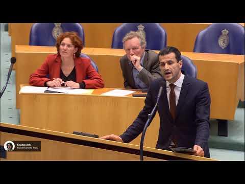 Harde botsing Denk en PVV na interruptie Azarkan
