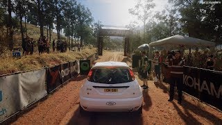 DiRT Rally 2.0 - Ford Focus RS Rally 2001 - Rally Australia Gameplay [4K 60FPS]