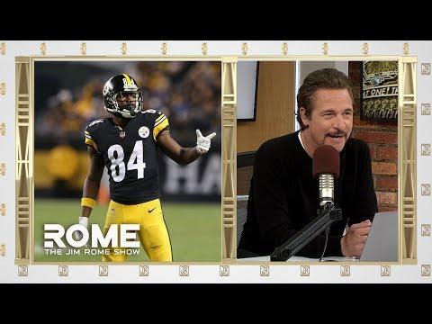 Antonio Brown DENIES Trade to Buffalo   The Jim Rome Show