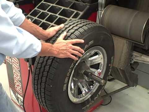 tire mount and balance machine