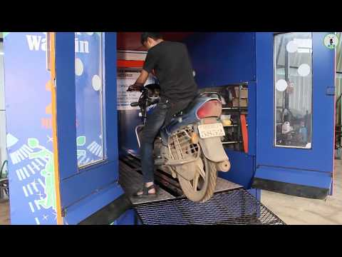 My Bike Wash Demo - Complete Motorbike Care Unit