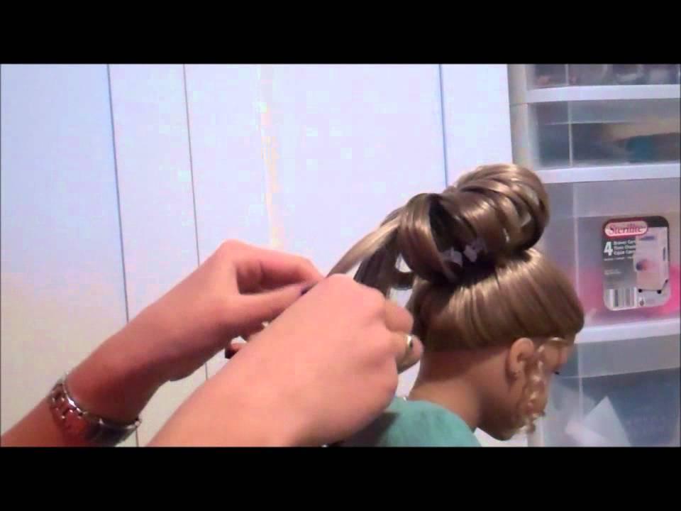 American Girl Fancy Bun Hairstyle Youtube