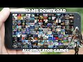 [12 MB] Download now all emulator games for free