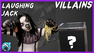 Villains Laughing Jack Whats in The Box Challenge | Thumbs Up Family