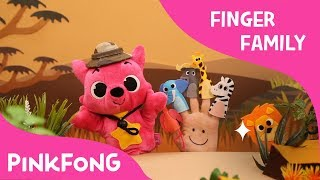 Savanna Finger Family | Finger Puppets | Pinkfong Plush | Pinkfong Songs for Children